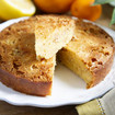Zitronen-Polenta Kuchen