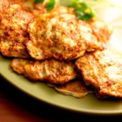 Zucchini-Kartoffel-Puffer